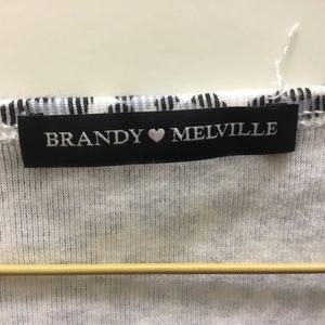 Brandy Melville Tops - Brandy Melville Rare blue cheetah print zelly top!